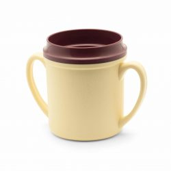 KH Traditional Insulated Double Handle Mug Yellow