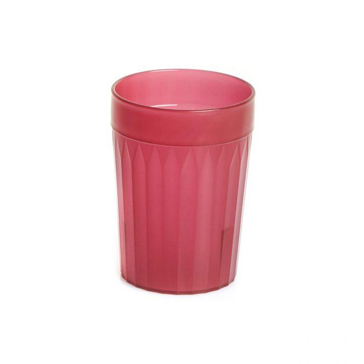 Healthcare Burgandy Re-Usable Plastic Tumblers (#30)