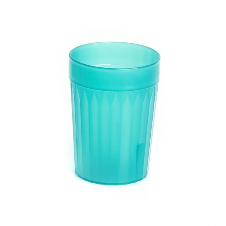 KH Healthcare Green Re-Usable Plastic Tumblers