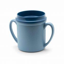 KH Healthcare Insulated Double Handle Mug Blue