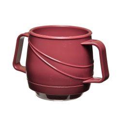KH Moderne Insulated Double Handle Mug Burgundy