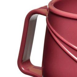 KH Moderne Insulated Single Handle Mug Burgundy