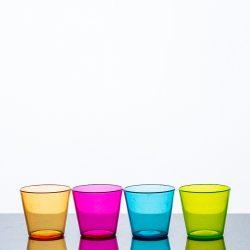 Shot Glasses Coloured PGC Polycarbonate 2