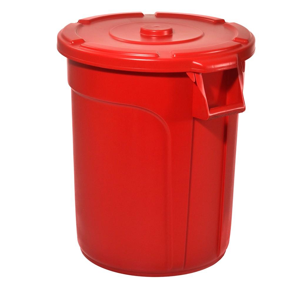 TRUST Thor Round Bin Red