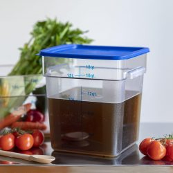 Square Storage Food Containers 17.2lt