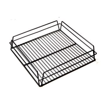 KH Glass Basket Rack Black