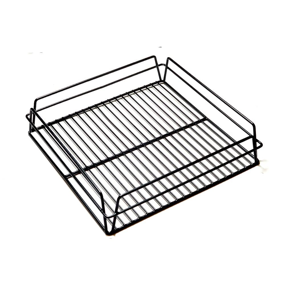 KH Glass Basket Rack Black