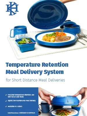 Temperature Retention Meal Delivery System