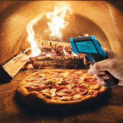 Infrared Thermometer High Temperature Wood Oven