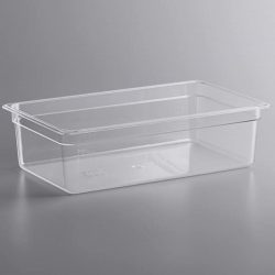 KH Polycarbonate Food Pans Clear 1-1 Full Size