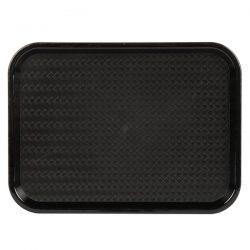 89000 Black Fast Food Tray