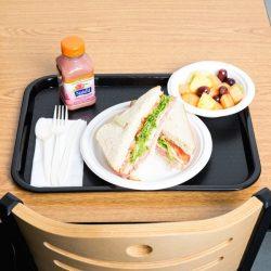 89000 Black Fast Food Tray 3