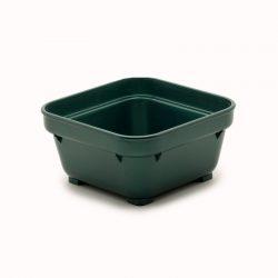 KH Healthcare Square Bowl 100MM Green PP (19)